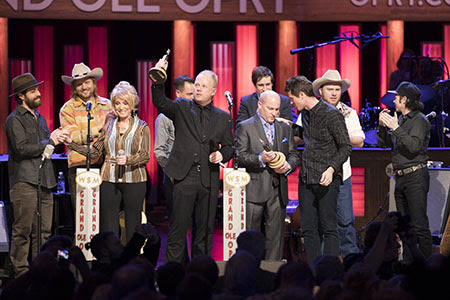 Dailey & Vincent Opry Induction