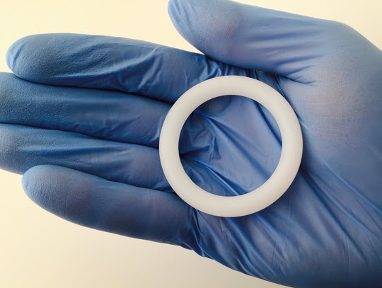 Vaginal ring for HIV prevention