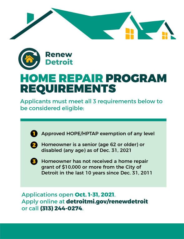 Renew Detroit Home Repair