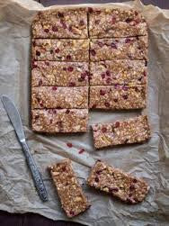 Cranberry Almond Protein Bar with Lemon Essential Oil