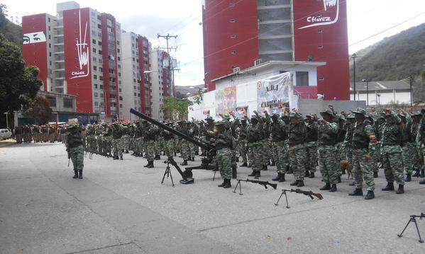 "Vladimir Padrino supervisa ejercicio: Apresto Operacional a Nivel Nacional ""Escudo Patrio"" de la Milicia Bolivariana"