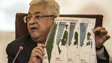"""El presidente palestino, Mahmud Abbás, anuncia la suspensión de """"todas las relaciones"""" con EE.UU. e Israel"""