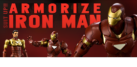 ARMORIZE IRON MAN FIGURE