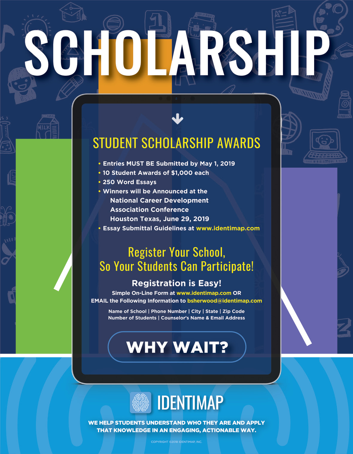 Identimap SCHOLARSHIP Flyer 8.5x11 02