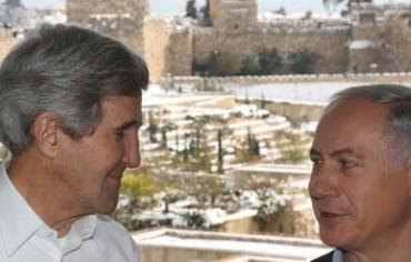 Kerry and Netanyahu in Jerusalem,