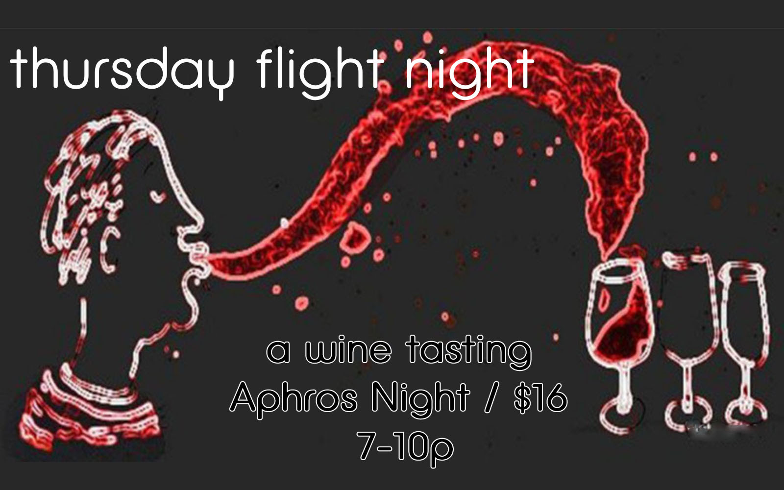 Aphros Wine Flight Night 8.21.14