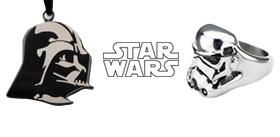 STAR WARS STAINLESS STEEL JEWELRY