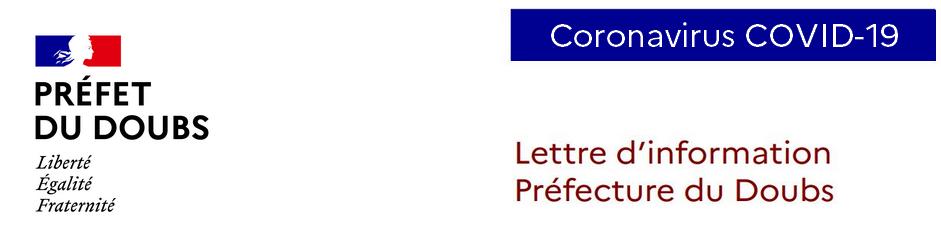 Lettre d'information - Préfecture du Doubs