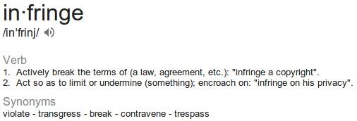 Rights Infringement