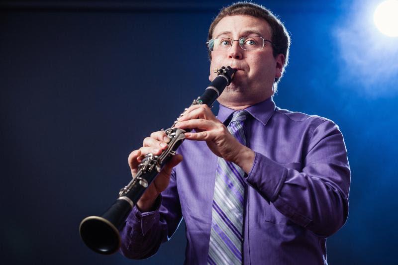Seth with clarinet