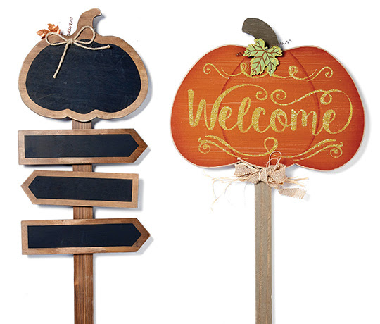 Fall Into Color Outdoor Decor and Lighting.