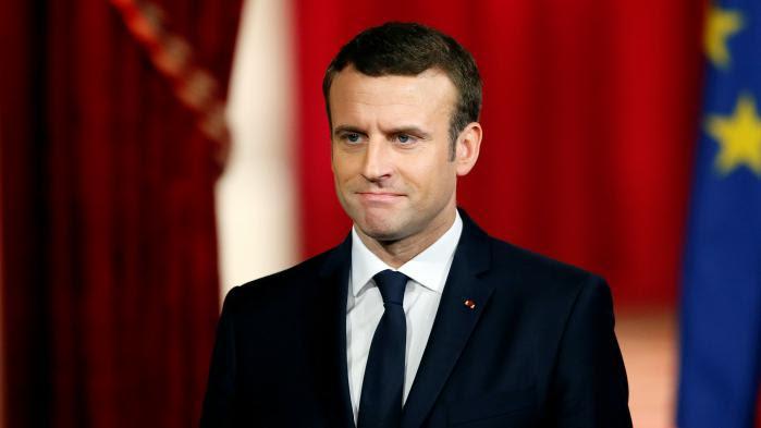 """VIDEO. Emmanuel Macron veut """"rendre aux Français leur confiance en eux"""" : revivez son discours d'investiture"""