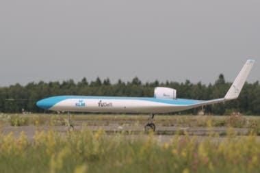 Un modelo a escala fue volado por primera vez en Alemania