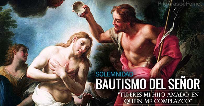 bautismo del senor solemnidad fiesta juan bautiza a jesus