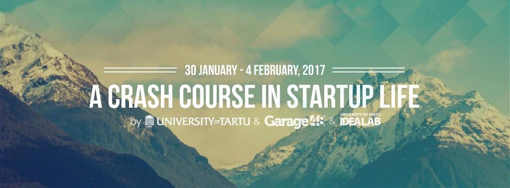 Student Startup Camp Tartu 2017