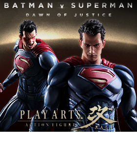 BATMAN V SUPERMAN PLAY ARTS KAI SUPERMAN