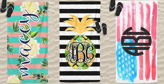 HOT!! Personalized Beach Towel...