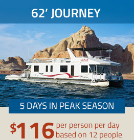 62' JOURNEY - $116 pp/pd based on 12 people