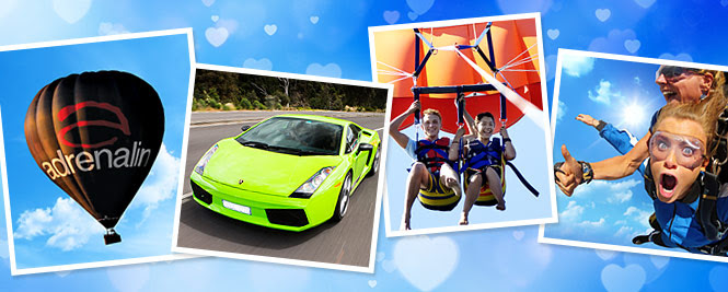 Make your Valentine go WooHoo With Over 2,500 Gifts & Experiences at Adrenalin.com.au