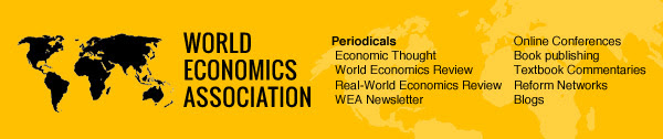 WEA online conference: International financial architecture