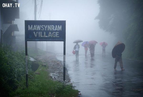 Nơi ẩm ướt nhất thế giới