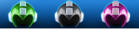 1:1 SCALE WEARABLE MEGA MAN HELMETS