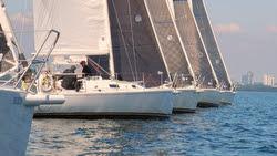 J/105s sailing Canadian Nationals off Toronto- Royal Canadian YC