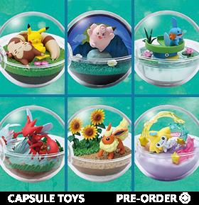 Pokemon Terrarium Collection Vol.8 Box of 6 Capsules