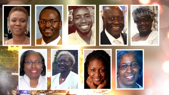 Picture of all 9 Charleston massacre victims
