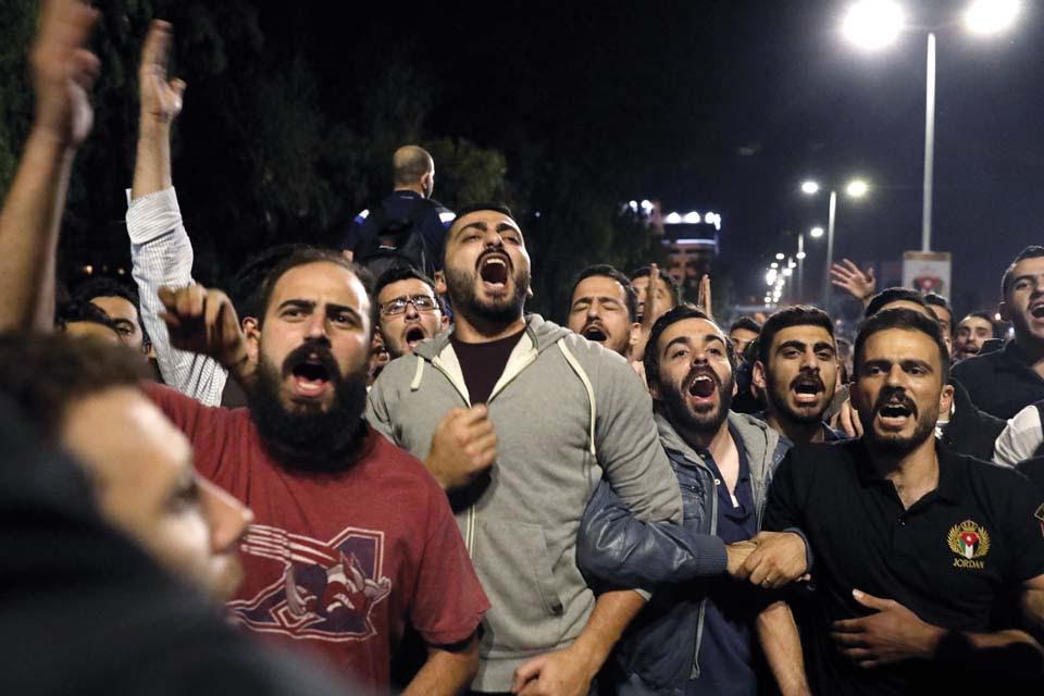 Митинг в столице Иордании против повышения цен. Фото: EPA