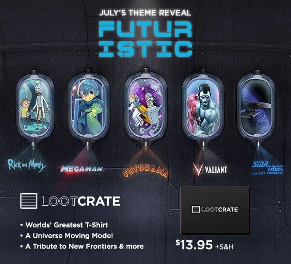 Loot Crate - Futuristic
