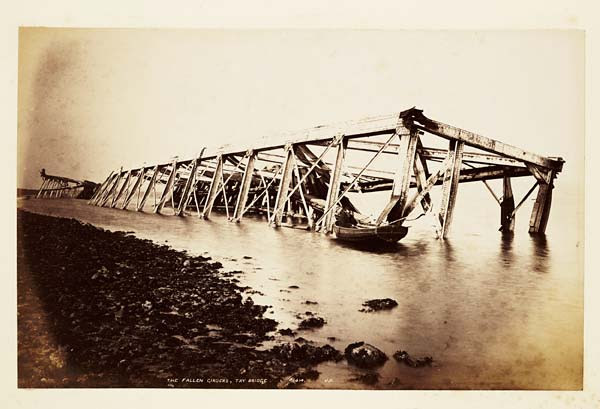 (59) 1414. J,V. - Fallen girders, Tay Bridge