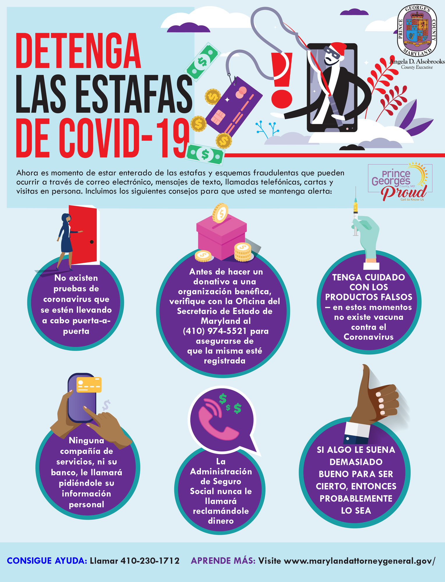 covid scams spanish