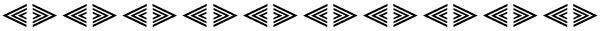 triangle frieze