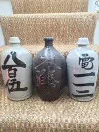 Sake Bottles September 2016 A