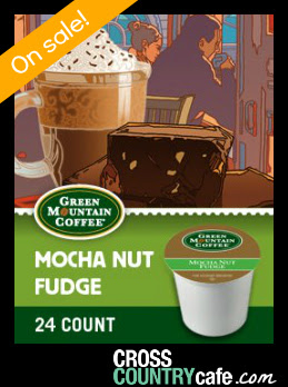 Mocha Nut Fudge Keurig K-cup coffee