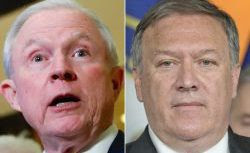 Trump Taps Sessions for AG, Pompeo for CIA