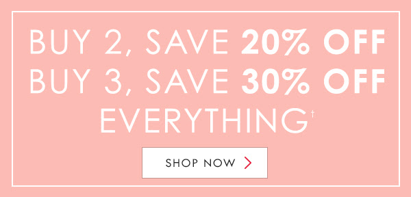Falling for new, save 20% off when you buy 2 and save 30% off when you buy 3 on everything at Berlei.