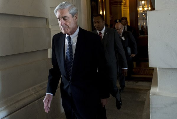 A bill to protect Robert S. Mueller III, the special counsel, is backed by a bipartisan group of senators but is opposed by House Republicans.