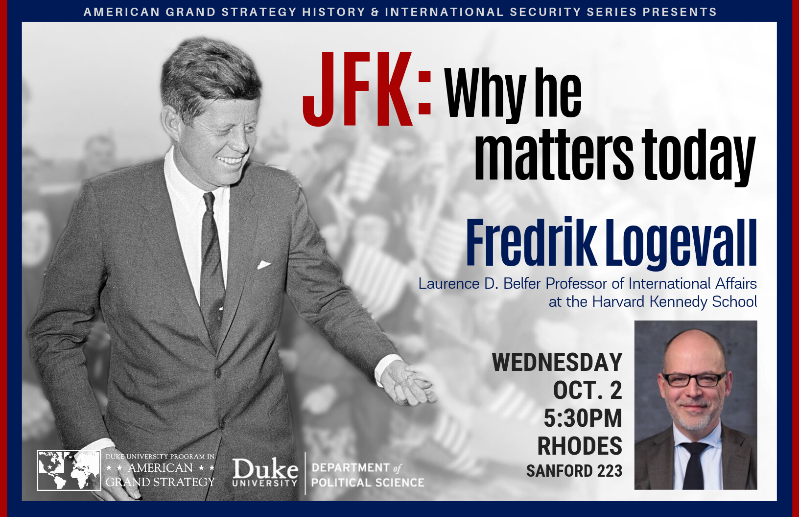 JFK: Why He Matters @ Sanford 223