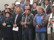 Los resultados emitidos por el Tribunal Supremo Electoral de Bolivia le dieron la victoria al presidente Evo Morales con el 46,60 % de los votos.