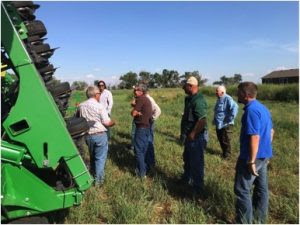 Southern Colorado producers on a soil health tour in South Dakota at Cronin Farm