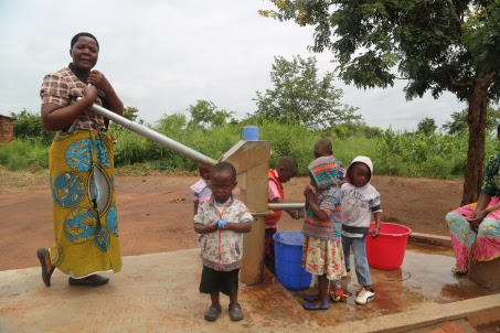 Mary Msampha can now afford to draw water close to her home