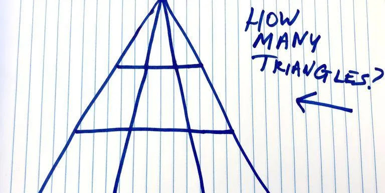 Can you solve the triangle brain teaser that left one writer arguing all day?