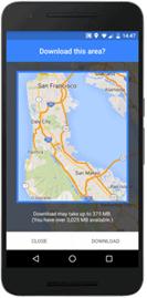 Google Maps Offline