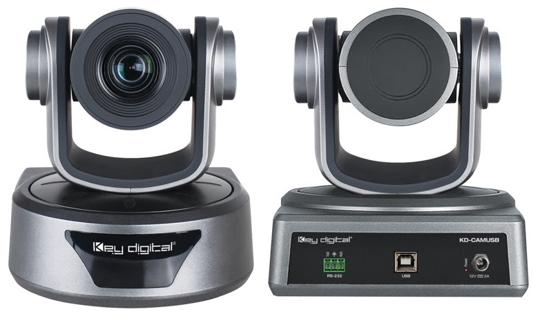 USB Camera - KD-CAMUSB. Front and back picture.