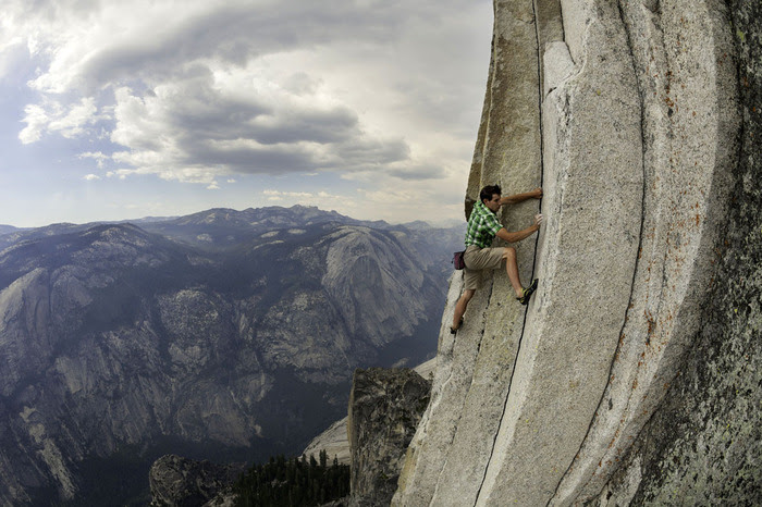 Alex Honnold free-climbs thousands of feet in Yosemite with nothing but a bag of chalk. My palms sweat just looking at him.