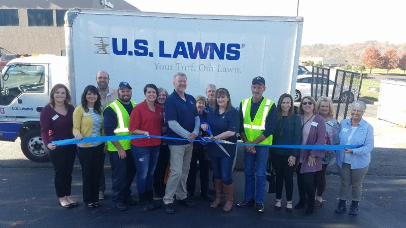 US LAWNS RIBBON CUTTING
