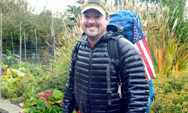 Former Soldier Trekking to Four Corners of Lower 48 to Call Attention to PTSD