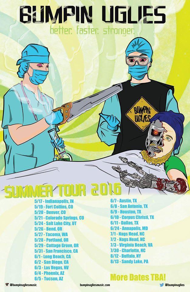 bumpin uglies tour poster